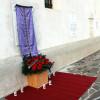 Plošča pred blagoslovom/La lapide prima della benedizione