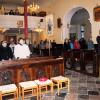 Prisotni v cerkvi/I presenti in chiesa