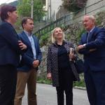 Minister Žmavc v Benečiji in Reziji_<em>Il ministro Žmavc in Slavia e a Resia</em>