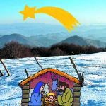 Blagoslovljen Božič v naših vaseh_<em>Un santo Natale nei nostri paesi</em>