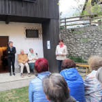 Dediščina brusačev v Kranjski Gori_<em>Gli arrotini in mostra a Kranjska Gora</em>