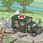 2. svetovna vojna v stripu (55)_<em>La 2ª guerra mondiale a fumetti (55)</em>