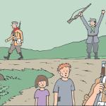 2. svetovna vojna v stripu (62)_<em>La 2ª guerra mondiale a fumetti (62)</em>