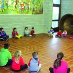 Učenci iz Breginja na obisku v Tipani_<em>Scolari di Breginj in visita a Taipana</em>