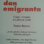51. Dan emigranta_<em>Lunedì il Dan emigranta</em>